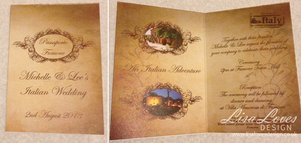 Wedding Invitations Lisa Loves Design