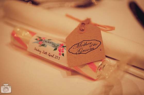 Luggage Label Place Card