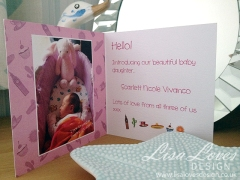 New Baby Card - Inside