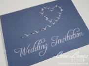 Seaside- Sparkle Wedding Invitation