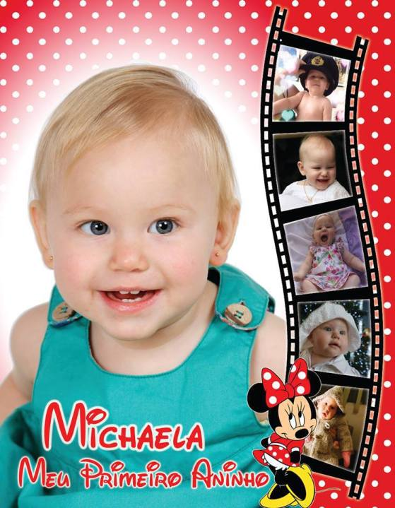 Baby's 1st Birthday Photo Montage