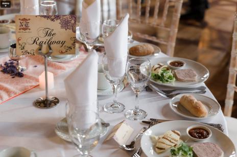 Rustic Wedding Table Name
