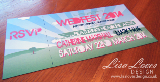 Wedfest Invitation